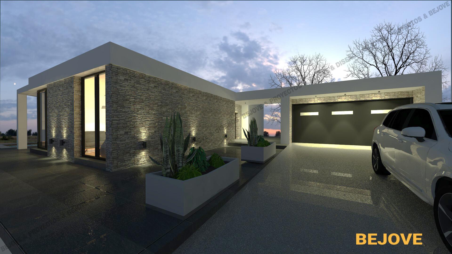 Construcción de casa moderna, incluido montaje de cocina y reforma de baño. Si desea comprar una casa.